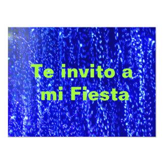 Invitación - Teのinvito miのフェスタ- Azul カード
