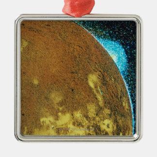 Ioの火山爆発 メタルオーナメント