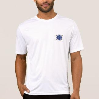 IOBのmicrofiberの不足分の袖 Tシャツ