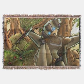 Ioniaの森林ブランケット スローブランケット