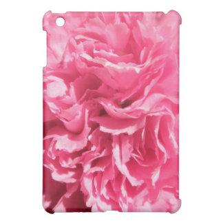 iPadのための明るいピンクのカーネーションの花の花びらの箱 iPad Miniケース