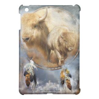 iPadのための白いバッファローの芸術の箱の精神 iPad Mini カバー