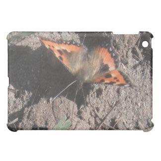 Ipadの場合の毛深い蝶土のあさること iPad Miniカバー