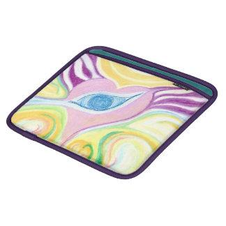 iPadの場合の目のハートのデザイン iPadスリーブ