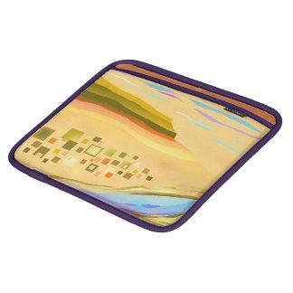 iPadの場合の砂漠1のデザイン iPadスリーブ