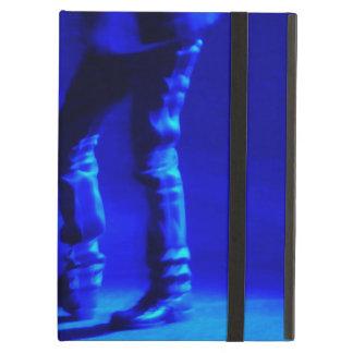 iPadの場合の近代美術の青いタップダンス iPad Airケース