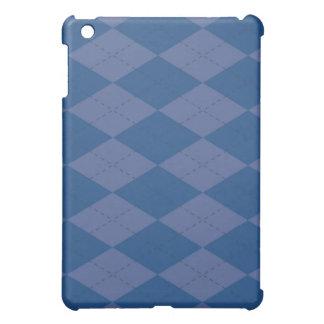 iPadの場合-アーガイル-ブルーベリー iPad Mini Case