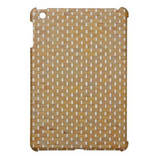 iPadの場合-森-白のブロック iPad Miniカバー