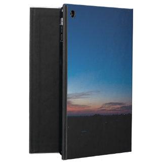 iPadの空気のための青い夜明けの空の箱 iPad Airケース