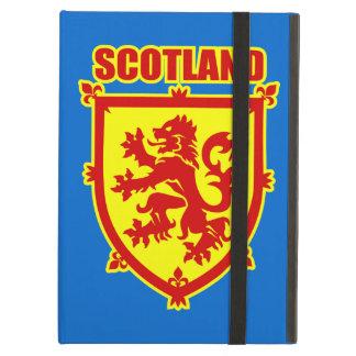 iPadの空気箱スコットランドのライオンの手がつけられない紋章付き外衣 iPad Airケース