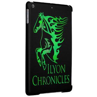 iPadの空気Ilyonは緑の馬の箱を記録します