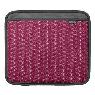 Ipadの袖のあずき色のグリッター iPadスリーブ