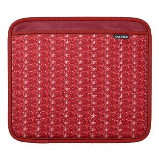 Ipadの袖の赤いグリッター iPadスリーブ