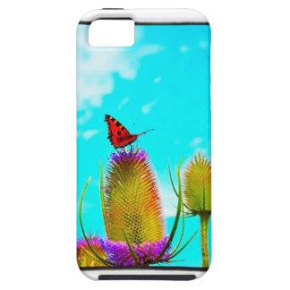 ipadのiphoneのための蝶カバー iPhone SE/5/5s ケース