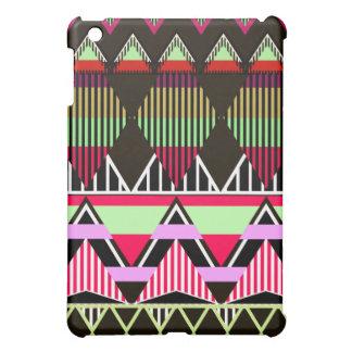 iPadのSpeckのピンクのネオン種族の刺激を受けたな場合 iPad Mini カバー