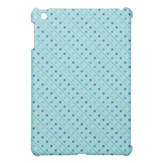 iPadのSpeckの場合の熱く青い水玉模様 iPad Miniケース