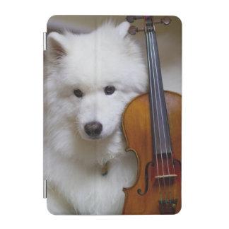 Ipadバイオリンを持つ小型カバーSamoyed iPad Miniカバー