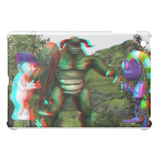iPad 1の場合3Dのトロールの戦い iPad Miniケース