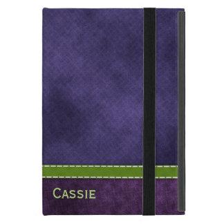iPad Miniのかわいらしい紫色のフォリオの箱 iPad Mini ケース
