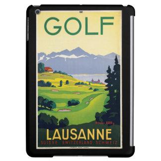 iPad Miniのためのスイス連邦共和国ポスターのヴィンテージのゴルフ