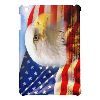 iPad Miniのための白頭鷲カバーが付いている米国旗 iPad Miniケース