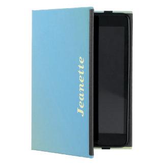 iPad Miniのフォリオの場合は、黄色になるパステル調の青衰退します iPad Mini ケース