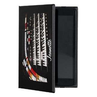 iPad Miniのフォリオの場合、旧式な器官、黒の背部 iPad Mini ケース
