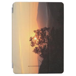 iPad Miniカバー-山の朝の日の出 iPad Air カバー
