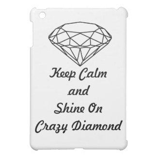 iPad Miniケースのマット-穏やかで熱狂するなダイヤモンドを保って下さい iPad Miniケース