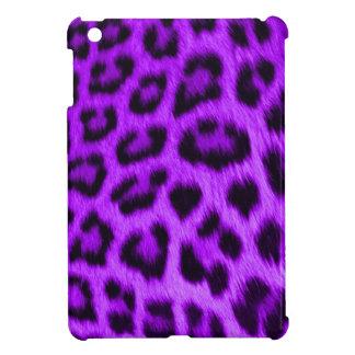iPad Miniケースの野生のすみれ色のヒョウ iPad Mini カバー