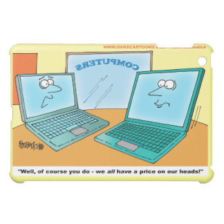 iPad Miniケース-勝利述べている漫画のラップトップ iPad Miniカバー
