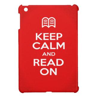 iPad Miniケース-平静を読まれる保てば iPad Miniケース