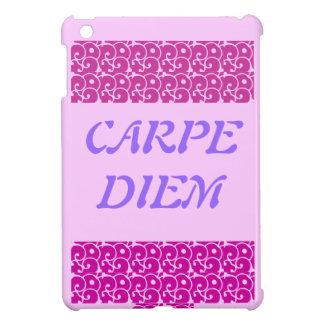 IPAD MINI CARPE DIEM iPad MINI カバー