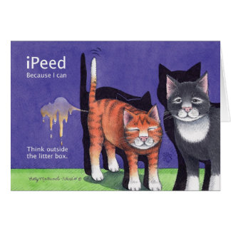 iPeed B及びT #88誕生日Notecard カード