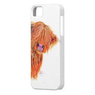 IphoneおよびSamsungのための高地牛「ピーカブー」 iPhone SE/5/5s ケース