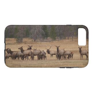 iPhoneと堅い穹窖場合のコロラド州の7頭のオオシカ iPhone 8 Plus/7 Plusケース