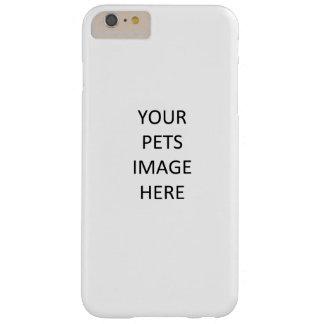 iPhoneにペット加えて下さい Barely There iPhone 6 Plus ケース