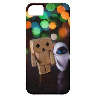 Iphoneのあなたの場合の2つのかわいいキャラクター iPhone SE/5/5s ケース