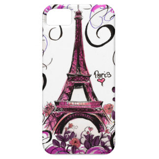 Iphoneのためのパリの電話箱 iPhone SE/5/5s ケース
