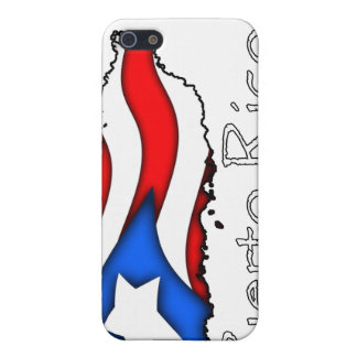 iPhoneのためのプエルトリコの旗のSpeckの場合 iPhone 5 カバー
