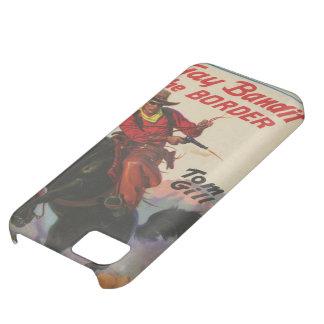 iPhoneのためのペーパーバックの西部カバーの陽気なカウボーイ iPhone5Cケース