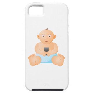 iPhoneのベビーのイメージの堅い電話箱 iPhone SE/5/5s ケース