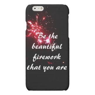 iPhoneの場合であること美しい花火があって下さい