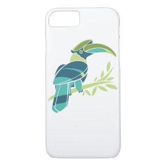 iPhoneの場合のための素晴らしい鳥の絵 iPhone 8/7ケース