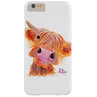 iPhoneの場合のスコットランドの高地牛「Nessie」 Barely There iPhone 6 Plus ケース