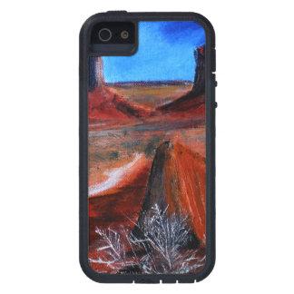 iPhoneの場合のユタの芸術の絵画のデザイン iPhone SE/5/5s ケース