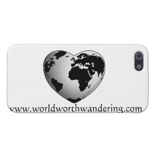 iphoneの場合の価値を持つ世界さまようことを iPhone 5 cover