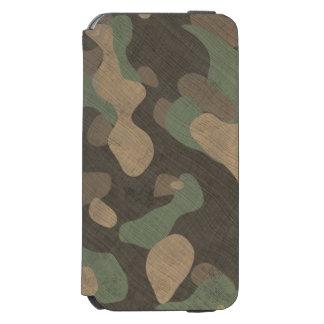 iPhoneの場合の森林軍のカムフラージュ Incipio Watson™ iPhone 6 ウォレットケース