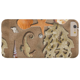 Iphoneの場合の海の貝 iPhone 6 Plus ベアリーゼアケース