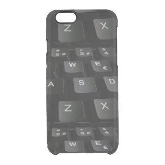 iPhoneの場合の裏表紙 クリアiPhone 6/6Sケース